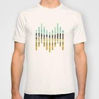 Stand right here T-shirt by pascal | Society6