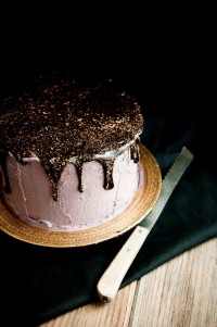 "Desserts for Breakfast: Oreo Olallieberry Chocolate Layer Cake, or ""Oo-- cake!"""