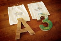 Mr Cup Helvetica WoodLettters - The Dieline -