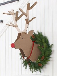 Reindeer Crafts - Scandinavian Christmas Decorations - Good Housekeeping