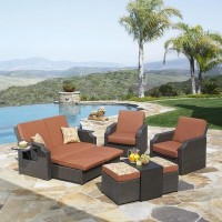 Mission Hills Sedona 4 Piece Deep Seating Set | Wayfair