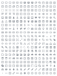 Batch • 300 Icons for Web & User Interface Design