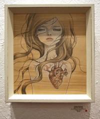 """Audrey Kawasaki - """"The Drawing Room"""""""