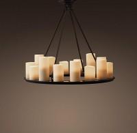 Pillar Candle Round Chandelier Small | Chandeliers | Restoration Hardware