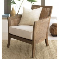 Blake Grey Wash Lounge Chair with Cushion in Chairs   Crate and Barrel
