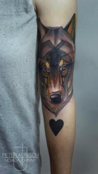 Fuck Yeah, Tattoos! — electrictattoos: Peter Aurisch