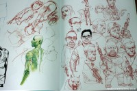 Halcyon Realms – Animation.Film.Photography and Art Book Reviews » » Kim Jung-Gi 2011 Sketch Collection Art Book Review