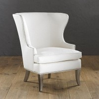 Thurston Wing Chair with Pewter Nailheads | Ballard Designs