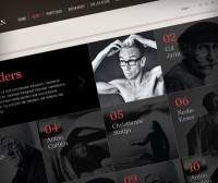 Stephan Vanfleteren website on Web Design Served