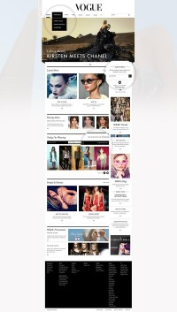 vogue.co.uk on Web Design Served