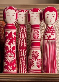 Kokeshi for the couch | Type for you.