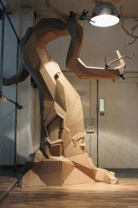 Gigantic cardboard structures by Bartek Elsner — Lost At E Minor: For creative people