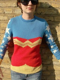 *UPDATE* Wonder Woman Jumper- *Now with tute* - KNITTING