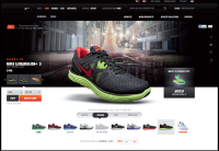 NikeStore on Web Design Served