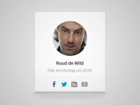 DJ profile badge by Supersteil