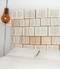 DIY Book Headboard / Design Every Day