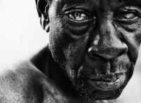 Retratos a preto e branco   fotografia de Lee Jeffries ~ O QUE VEM À REDE