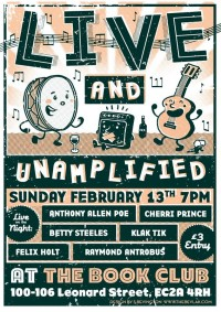 Live and Unamplified
