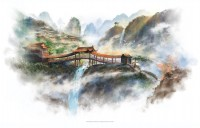 Covered Bridge by ~jerain