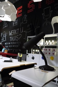 Vosgesparis: Blackboard walls + cool workspaces