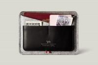 hard graft / Passport Wallet / Smoke