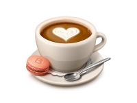 Valentine's Day Coffee by SoftFacade