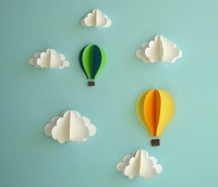 Fancy - Floating in the Clouds 3D Wall Art
