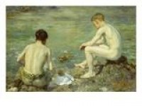Morning Splendour Giclee Print by Henry Scott Tuke at eu.art.com