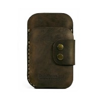 iPhone Leather Wallet iPhone 5 leather sleeve hand by AtelierPall