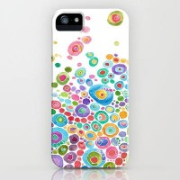 Inner Circle - white iPhone Case by Catherine Holcombe | Society6