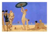 At the Lido Giclee Print by Georges Barbier at Art.com