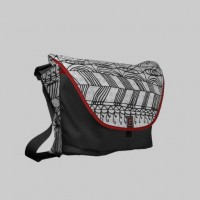 Blanket of Confusion Messenger Bag from Zazzle.com