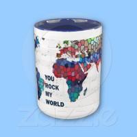 You Rock my World Mug from Zazzle.com