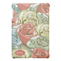 Vintage Roses Pattern Cover For The iPad Mini from Zazzle.com