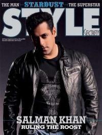 Salman Khan on the cover of Stardust Style Secret magazine (September 2012) - DesiSpy.com