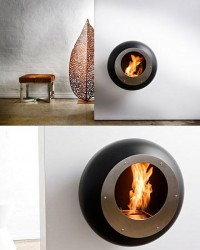 30 Awesome Outdoor Fireplace & Fire Pit Designs | inspirationfeed.com