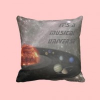It's a Musical Universe gift pillow from Zazzle.com