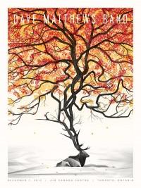 DKNG Studios » Dave Matthews Band // Toronto Poster