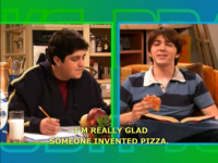 I'm really glad someone invented pizza.