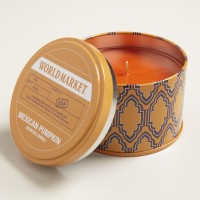 Mexican Pumpkin Travel Candle Tin | World Market