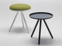 POUF / COFFEE TABLE BOLLE BY LIVING DIVANI | DESIGN NATHAN YONG