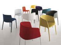 UPHOLSTERED CHAIR ACHILLE COLLECTION BY MDF ITALIA | DESIGN JEAN-MARIE MASSAUD