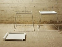 COFFEE TABLE / BEDSIDE TABLE FRANKE IDENTITY COLLECTION BY CANDIA STROM | DESIGN SOTIRIS LAZOU
