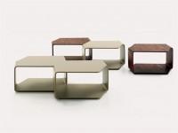 LOW COFFEE TABLE CIRCUS BY NUBE ITALIA | DESIGN MARIO FERRARINI