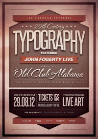 Posters with Awesome Typography | Abduzeedo Design Inspiration & Tutorials