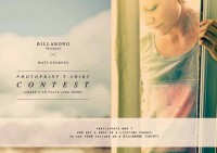Billabong presents photoprints by Matt Georges – and yourself