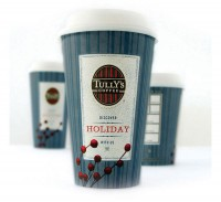 Tully'sCoffee - The Dieline: The World's #1 Package Design Website -