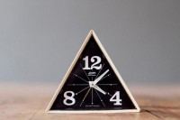 Rare Vintage Linden Black Forest Geometric Alarm Clock Made in West Germany ($52.00) - Svpply