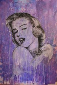 Marilyn Monroe- Mixed Media by ~shawnie-b