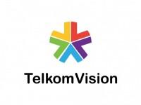 Telkom Vision Vector Logo - COMMERCIAL LOGOS - Media : LogoWik.com